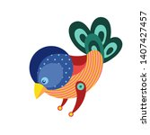 vector illustration colorful... | Shutterstock .eps vector #1407427457