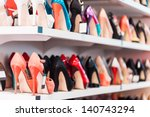 background with shoes on... | Shutterstock . vector #140743294