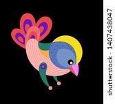 vector illustration colorful... | Shutterstock .eps vector #1407438047