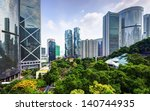 modern skyscrapers viewed from... | Shutterstock . vector #140744935
