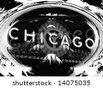 Chicago Black And White Collag...