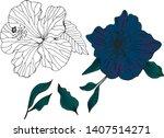 vector hand drawn set of...   Shutterstock .eps vector #1407514271