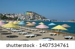 izmir turkey  july 5 2018 ... | Shutterstock . vector #1407534761