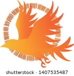 vector image of silhouettes of...   Shutterstock .eps vector #1407535487