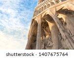 barcelona  spain  march 14 ... | Shutterstock . vector #1407675764