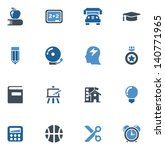 education icons | Shutterstock .eps vector #140771965