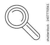 search icon vector. search flat ...