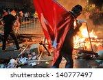 istanbul   jun 1  violence...   Shutterstock . vector #140777497