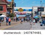 atlantic city  new jersey   may ...   Shutterstock . vector #1407874481