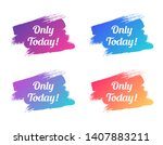 only today color promo... | Shutterstock .eps vector #1407883211
