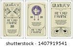 template advertisements  flyer  ...   Shutterstock .eps vector #1407919541