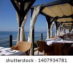 Luxury Restaurant At The Beach...