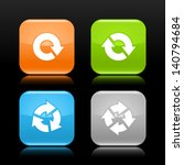 arrow reload  rotate  refresh ...   Shutterstock .eps vector #140794684