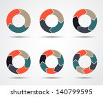 vector circle arrows for...