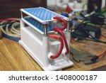 diy ozone generator  ozonizer.... | Shutterstock . vector #1408000187