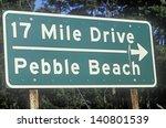 17 Mile Drive Scenic Drive Sig...