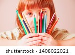 concept  world of color.... | Shutterstock . vector #1408022021