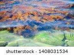 beautiful red  orange and... | Shutterstock . vector #1408031534
