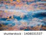 beautiful red  orange and... | Shutterstock . vector #1408031537