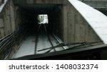 subway train moving through...   Shutterstock . vector #1408032374