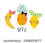 Funny Fruits Friends. Kids...