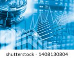 stock market investment trading ... | Shutterstock . vector #1408130804