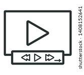 video player   minimal line web ...