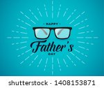 happy fathers day banner design ...   Shutterstock .eps vector #1408153871