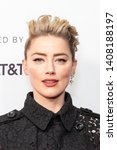 """Small photo of NEW YORK, NEW YORK - APRIL 27: Amber Heard attends """"Gully"""" screening at 2019 Tribeca Film Festival at SVA Theater on April 27, 2019 in New York City."""