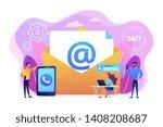 email marketing  internet... | Shutterstock .eps vector #1408208687