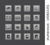 book icon set | Shutterstock .eps vector #140821351