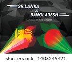 cricket championship banner... | Shutterstock .eps vector #1408249421