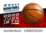 basketball modern sports poster ... | Shutterstock .eps vector #1408253234
