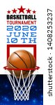 basketball modern sports poster ... | Shutterstock .eps vector #1408253237
