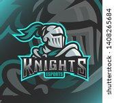 Knights Logo Mascot Vector...