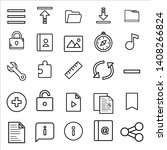25 icon user interface for...