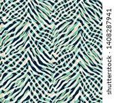 abstracted over scaled zebra...   Shutterstock .eps vector #1408287941