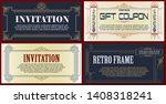 vector template flyer ...   Shutterstock .eps vector #1408318241