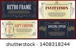vector template flyer ...   Shutterstock .eps vector #1408318244