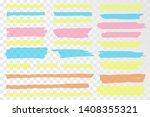 vector highlighter. hand drawn... | Shutterstock .eps vector #1408355321