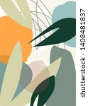 abstract design with nature... | Shutterstock . vector #1408481837