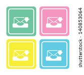 icon web set for use | Shutterstock .eps vector #140853064