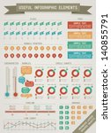 useful infographic elements | Shutterstock .eps vector #140855791