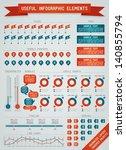 useful infographic elements   Shutterstock .eps vector #140855794
