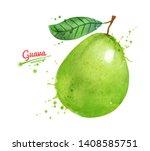 watercolor hand drawn... | Shutterstock . vector #1408585751