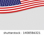 usa independence day 4th of... | Shutterstock .eps vector #1408586321