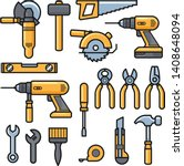 Building And Repair Tools Icon...
