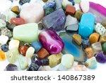 Precious stones - stock photo