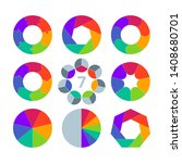 circle infographics design... | Shutterstock .eps vector #1408680701