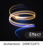 Moion Light Effect. Lens Flare. ...